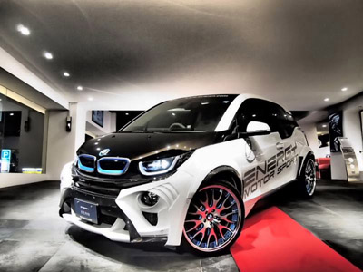 Японский тюнер Garage Eve.ryn опубликовал фото BMW i3 Evo