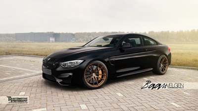 BMW M4 Coupe на дисках HRE Wheels от Baan Velgen
